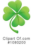 Royalty-Free (RF) Clover Clipart Illustration #1080200