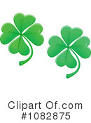 Royalty-Free (RF) Clover Clipart Illustration #1082875