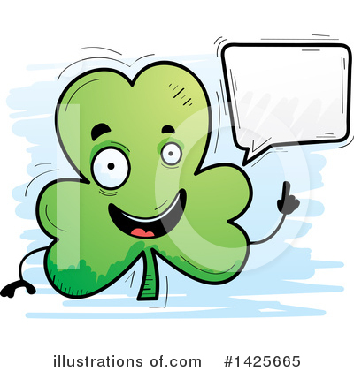 Clover Clipart #1425665 by Cory Thoman
