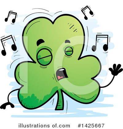 Clover Clipart #1425667 by Cory Thoman