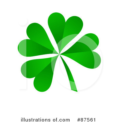 Four Leaf Clover Clipart #87561 by oboy