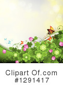 Clovers Clipart #1291417 by merlinul