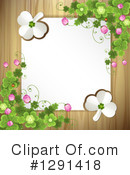 Clovers Clipart #1291418 by merlinul