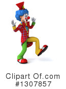 Clown Character Clipart #1307857 by Julos