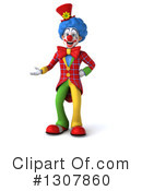 Clown Character Clipart #1307860 by Julos