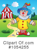 Royalty-Free (RF) Clown Clipart Illustration #1054255