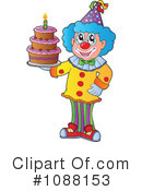 Clown Clipart #1088153 by visekart