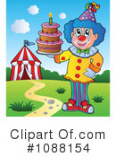 Clown Clipart #1088154 by visekart