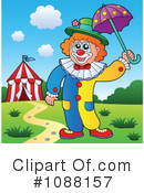 Clown Clipart #1088157 by visekart