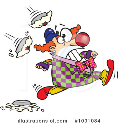 Clown Clipart #1091084 by toonaday