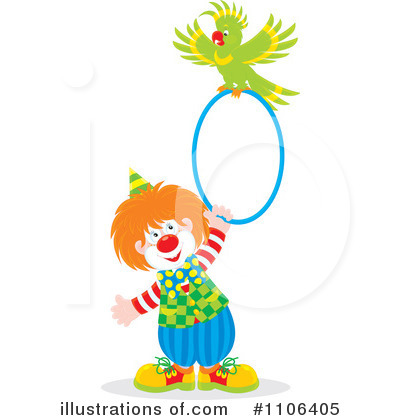 Clown Clipart #1106405 by Alex Bannykh