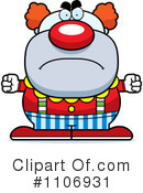 Royalty-Free (RF) Clown Clipart Illustration #1106931