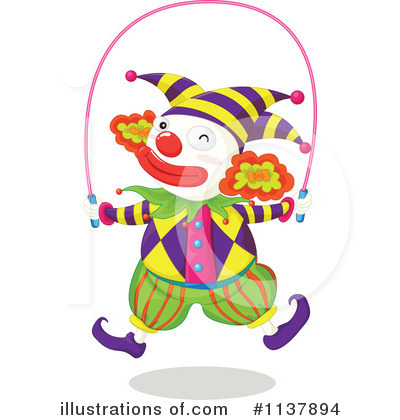 Clown Clipart #1137894 by Graphics RF