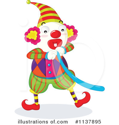 Clown Clipart #1137895 by Graphics RF