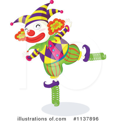 Clown Clipart #1137896 by Graphics RF
