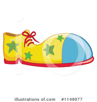 Royalty-Free (RF) Clown Clipart Illustration by Graphics RF - Stock Sample #1149077