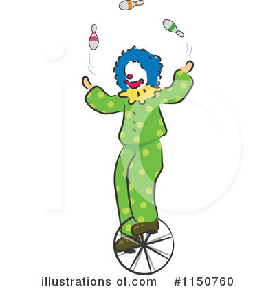 Circus Act Clipart #1150760 by BNP Design Studio