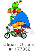 Royalty-Free (RF) Clown Clipart Illustration #1177332