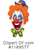 Royalty-Free (RF) Clown Clipart Illustration #1189577