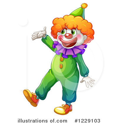 Clown Clipart #1229103 by Graphics RF