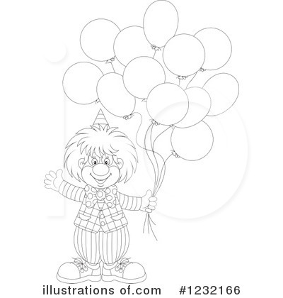 Clown Clipart #1232166 by Alex Bannykh