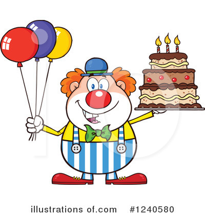 Balloons Clipart #1240580 by Hit Toon