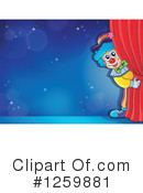 Royalty-Free (RF) Clown Clipart Illustration #1259881