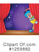 Royalty-Free (RF) Clown Clipart Illustration #1259882