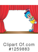Royalty-Free (RF) Clown Clipart Illustration #1259883