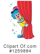 Royalty-Free (RF) Clown Clipart Illustration #1259884