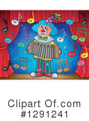 Royalty-Free (RF) Clown Clipart Illustration #1291241