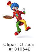 Clown Clipart #1310642 by Julos
