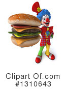 Clown Clipart #1310643 by Julos