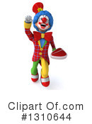 Clown Clipart #1310644 by Julos