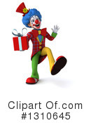 Clown Clipart #1310645 by Julos