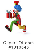 Clown Clipart #1310646 by Julos