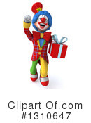 Clown Clipart #1310647 by Julos