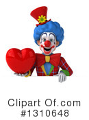 Clown Clipart #1310648 by Julos