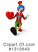 Clown Clipart #1310649 by Julos