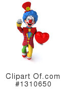 Clown Clipart #1310650 by Julos