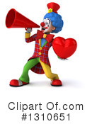 Clown Clipart #1310651 by Julos