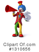 Clown Clipart #1310656 by Julos