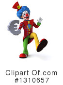 Clown Clipart #1310657 by Julos