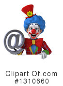 Clown Clipart #1310660 by Julos