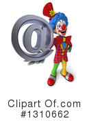 Clown Clipart #1310662 by Julos