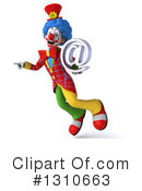 Clown Clipart #1310663 by Julos