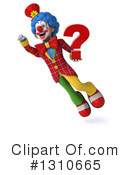 Clown Clipart #1310665 by Julos