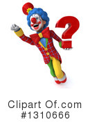 Clown Clipart #1310666 by Julos