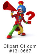 Clown Clipart #1310667 by Julos