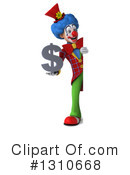 Clown Clipart #1310668 by Julos